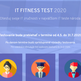 Povedali o IT Fitness teste 2020